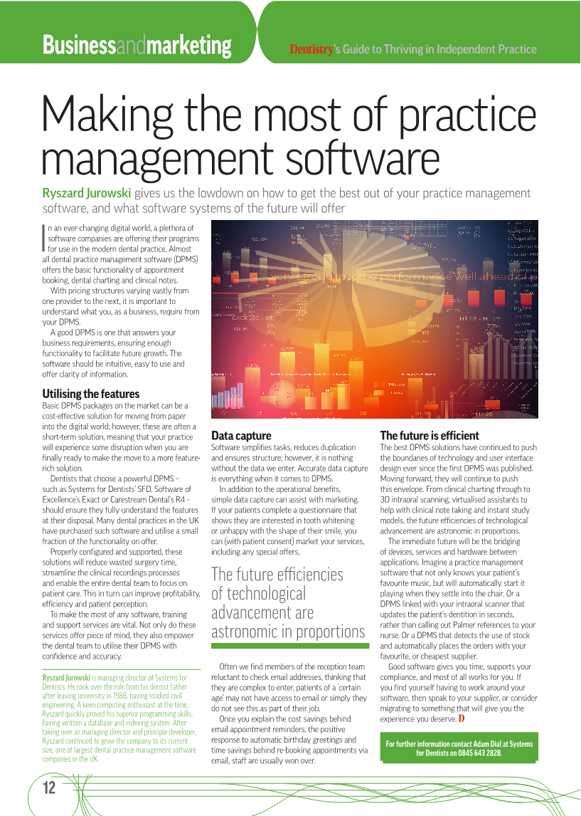 Making the most of practice management software